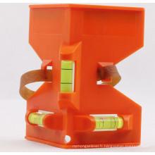 Orange Post Level avec 3 Vails (7001009)