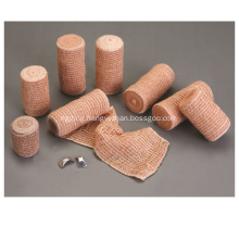 China Manufacture 80% Cotton Bandage Skin Color Elastic Crepe Bandage