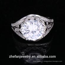 gros bijoux fournitures chine grande forme ronde anneau de mariage accessoires