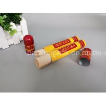 Tubo de charuto de alumínio com folha de madeira fina (PPC-ACT-030)
