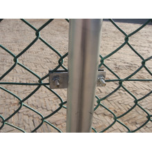 Chain Link Metal Fence Mesh Gate