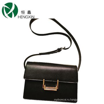 Оптовая дамская сумочка с металлической пряжкой