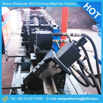 Máquina de moldagem de rolos e pernos de aço, garfo de aço e máquina de formação de rolos de trilhos