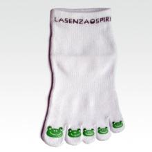Chaussettes à cinq orteils pour hommes avec anti-slip