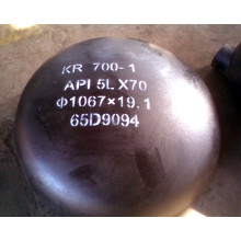 ASTM A106 Carbon Steel Cap Pipe Fittings