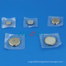 neo rare earth PVC cover magnet button