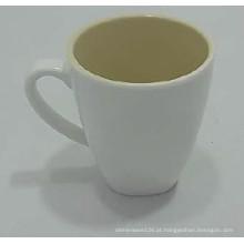 100% de utensílios de mesa de melamina-duotone / 100% melamina material / dupla cor canecas de café (qq646)