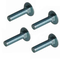Carriage Bolt Anodized 80mm m12 3/8 x 1