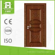 Ударопрочная внутренняя меламиновая дверь от фабрики дверей Китая