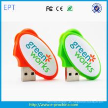 Ovo novo Forma USB Plastic Flash USB Flash Drives ((ED605)
