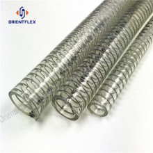 PVC+reinforced+flexible+spring+steel+wire+hose