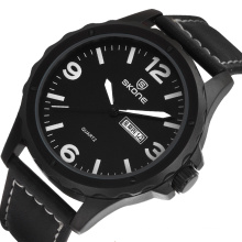 SKONE 9392 date calendar men's watches promotion gift for wholesale