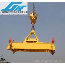 Broyeur électrique hydraulique rotatif à conteneur électrique