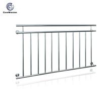 Diseños franceses de la barandilla del balcón del acero inoxidable de la venta caliente
