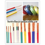 Top quality single core solid buildiing wire Copper Conductor Insulation PVC Eletrical wire