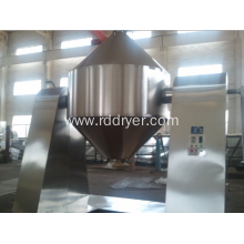 Stainless steel double cone rotary vacuum dryer
