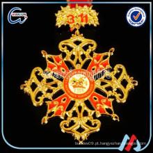Artesanato medalhões de cristal, artesanato medalha de cristal