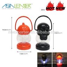 Pumpkin Ghost Design Decor LED Pendentif lanterne