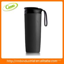 Taza del coche, taza de café reutilizable impresa aduana del viaje