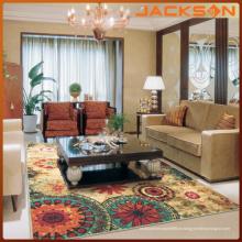 Tapete de piso de cor material de nylon de alta qualidade