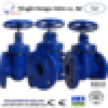 Hot sale gate valve: OS&Y flange connection cast iron metal sealed stem gate valve pn16 solenoid valve actuator 24v