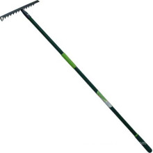 High Quality Garden Tools Forged Steel Garden Rake with Fiberglass Handle