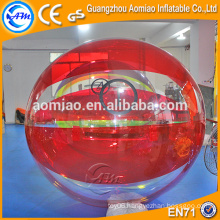 Cheap inflatable polymer jumbo water balls bubble ball walk water