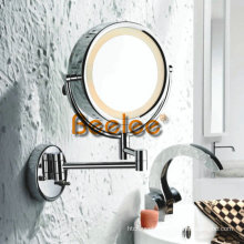 8.5-Inch LED Wall Mount Shaving Mirror