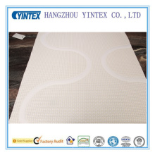 Cheap Mattress Layer Line Pattern Polyster Fabric