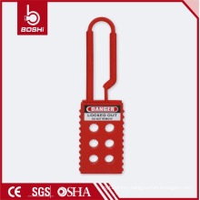 BOSHI BD-K41 Non-conductive Nylon Lockout Hasp with 6 Holes, OEM Acceptable