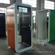 Guansu Good Quality Sound Proof Telephone Booth Office For Sale