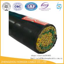 1.5sqmm 2.5sqmm 450 / 750V PVC multi noyau isolé câble de contrôle KVV