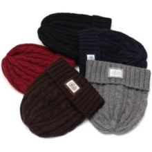 Plain Beanie Hat Fitted (XT-B041)