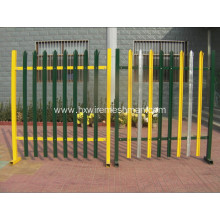 PVC Painted Ornamental Fence