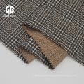 Nylon Rayon Spandex Jacquard Fabric With Check Pattern