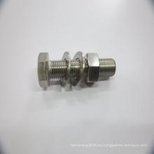 Tuerca hexagonal DIN 934 / Perno de bloqueo
