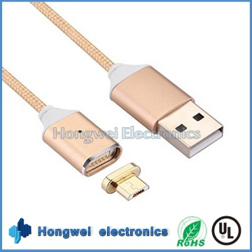 Микромагнитный зарядный кабель USB-адаптер для зарядного устройства для телефона Android