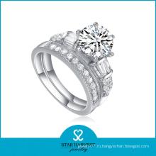 Самые продаваемые товары 925 Серебряное кольцо CZ (SH-R0134)
