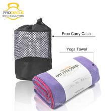 Atacado Microfibra Non Slip Hot Bambu Yoga Toalha