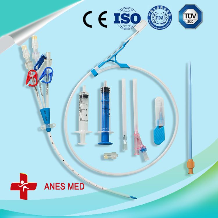 triple lumen hemodialysis catheter kit