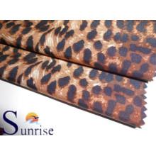 100 % Polyester Chiffon bedruckten Stoff für Kleidung (SRST 003)
