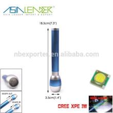 Cree XPE 3W алюминиевый зум-фонарик с гарантией от торговли