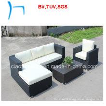 F - Garden Furniture Aluminum Rattan Sofa Set (CF897)