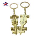 Custom metal casting 3D printing logo car keychain