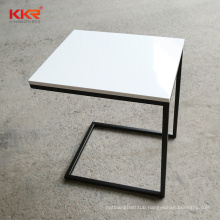 Custom acrylic solid surface design table and chair