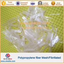 Fibre fibrille PP résistante à l'usure pour la construction de rivières