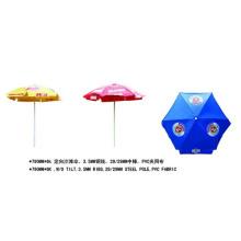 Parasol extérieur de centre de tissu de PVC de 790mmx6k PVC avec le logo (YSBEA0022)