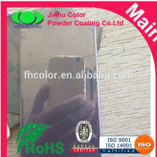 Chrome mirror effect powder coating paint
