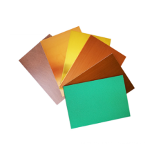 different surface treatment copper composite panel
