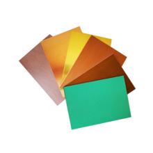 verschiedene Oberflächenbehandlung Kupfer-Verbundplatte